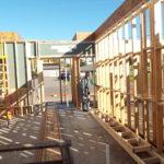 Cedar Bluff Under Construction